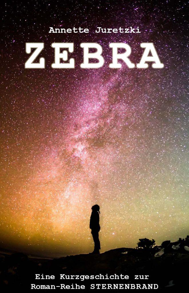 Sternenbrand Zebra Kurzgeschichte Cover