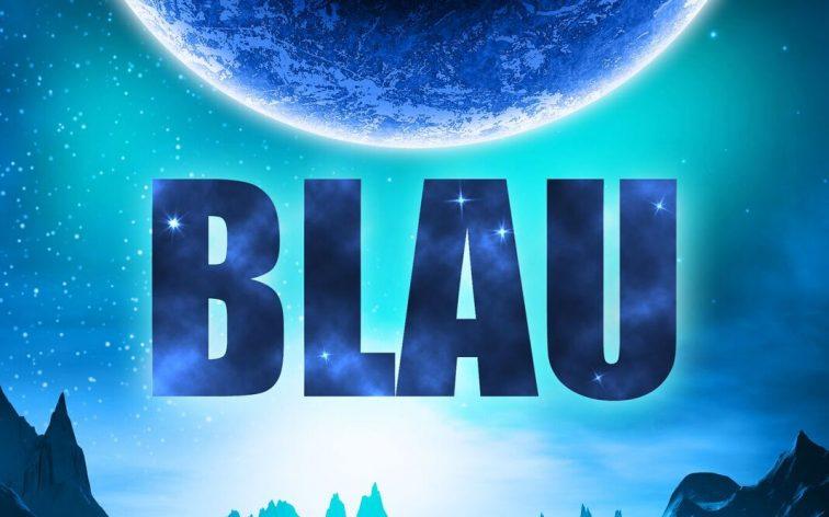 Das Buchcover zum Science Fiction Roman Blau von Annette Juretzki