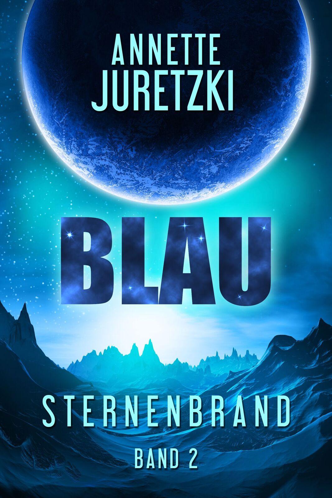 Blau Sternenbrand Cover Annette Juretzki