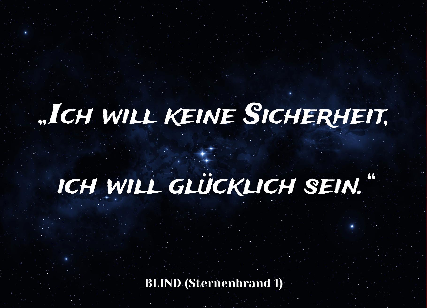 Blind Sternenbrand Xenen Zitat Juretzki