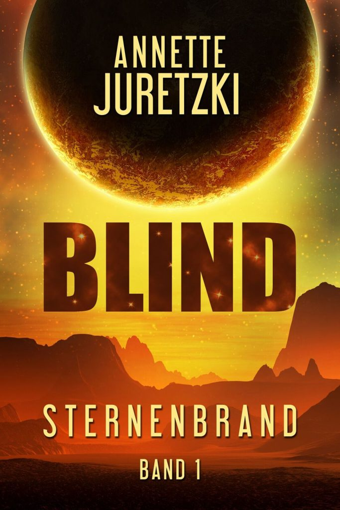 Blind Cover Sternenbrand Scifi Annette Juretzki
