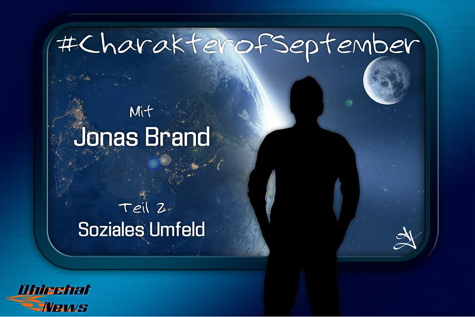 #CharakterofSeptember Jonas Brand Interview Sternenbrand