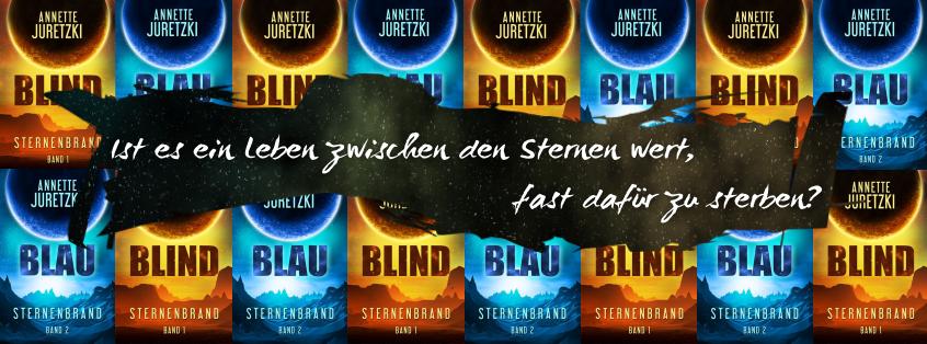 Juretzki Banner Blind Blau Scifi Cover
