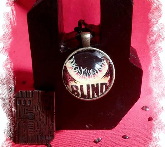 Kettenanhänger zum Roman Sternenbrand 1: Blind