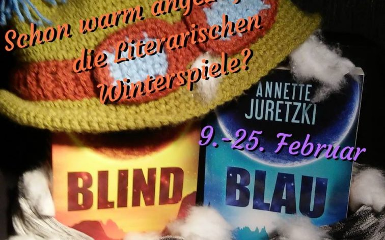 Die Bücher Blind und Blau der Science Fiction Romanreihe Sternenbrand mit Teemo Mütze.