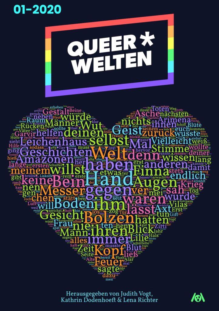Das Cover der Queer*Welten 01-2020